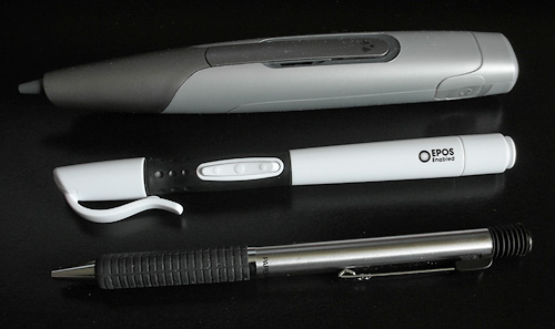 EPOS Digital Pen & USB Flash Drive (Image property of OhGizmo!)