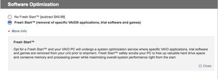 Sony Crapware