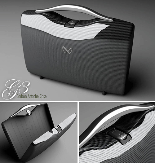 G3 Carbon Fiber Attache Case (Images courtesy Nikola)