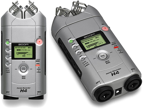 H4 Pocket-Size Digital Audio Recorder (Images courtesy ThinkGeek)