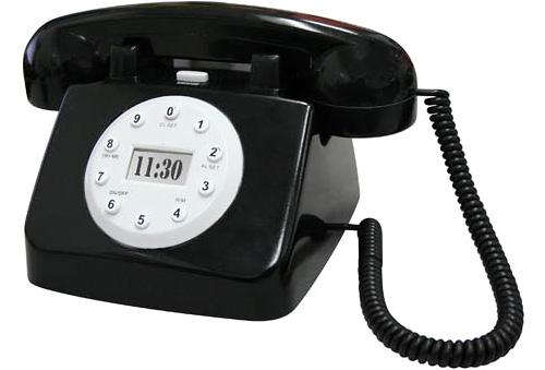 Hotel Phone Alarm Clock (Image courtesy Thumbs Up)