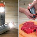 LED Lantern Salt And Pepper Shakers
