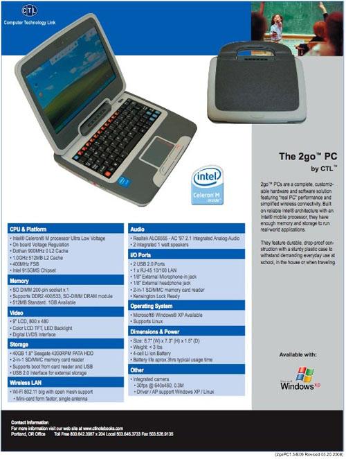 CTL 2go PC