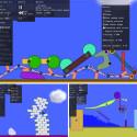 Phun – 2D Physics Sandbox – Goodbye Monday!