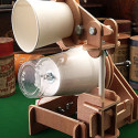 DIY Phonograph Kit Swaps Waxed Pipes For Plastic Cups