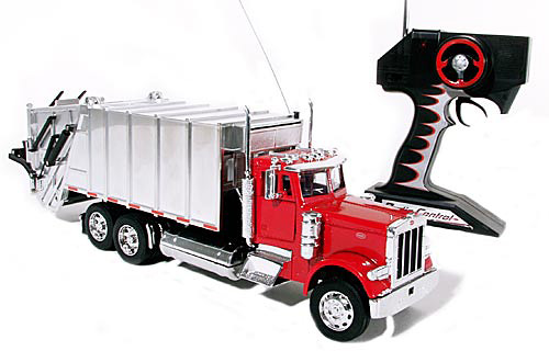 Remote Control Peterbilt 379 Garbage Truck (Image courtesy Diecast Model Car Collectibles )