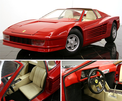 1986 Ferrari Testarossa Go-Kart (Images courtesy St. Louis Car Museum And Sales)