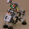 Tilted Twister Solves Rubik's Cube With LEGO Mindstorms NXT