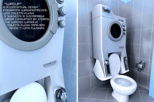 WashUP Concept (Images courtesy Sevin Coskun)