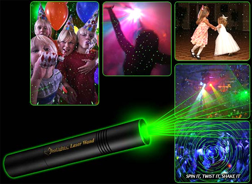 BlissLights Laser Wand (Images courtesy BlissLights)