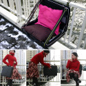 The Briefcase Seat – Always Have A Place To Sit, As Long As You're Carrying A Briefcase