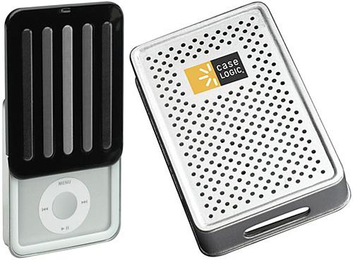 Case Logic iPod Nano & Classic Tin Cases (Images courtesy Case Logic)