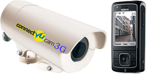 ConnectVu Cam 3G (Image courtesy CCTVMobile)
