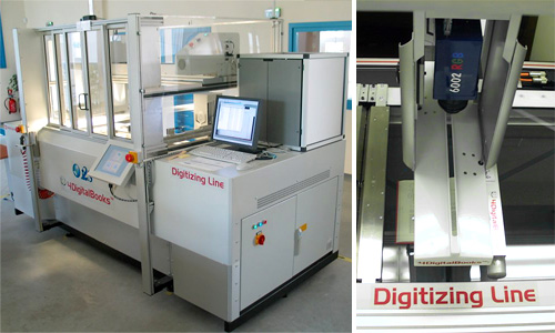 Digitizing Line DL 3000 (Images courtesy 4DigitalBooks)