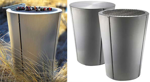 Eva Solo Stainless Steel Barrel Barbecue (Images courtesy Unica Home)