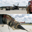 F-111 Fighters And Pelicans Don't Mix
