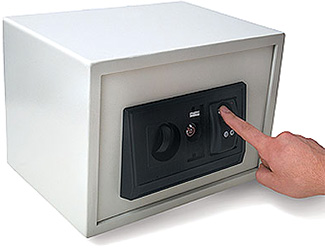 Fingerprint Safe Box (Image courtesy Gadget Universe)