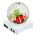 Fishtank Friday: Glowing USB Fishhub
