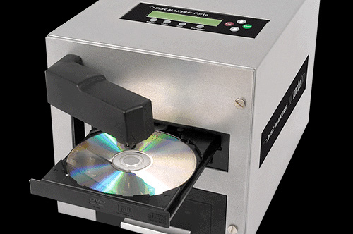Forte CD/DVD Duplicator (Image courtesy Disc Makers)