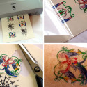 Inkjet Tattoo Paper Is Another Way To Avoid Those Painful Needles