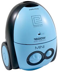 Essentials Mini Bagged 1600W Cylinder Vacuum Cleaner (Image courtesy Morphy Richards)