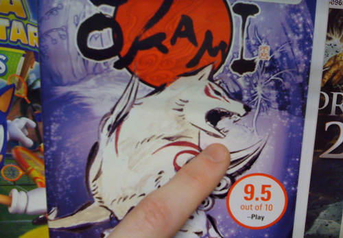 Okami For Wii (Image property of OhGizmo!)