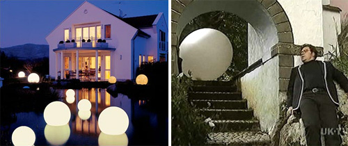 Moonlight Orbs Lighting (Images courtesy Moonlight USA & Britmovie.co.uk)