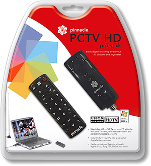 Pinnacle PCTV HD Pro Stick (Image courtesy Pinnacle)
