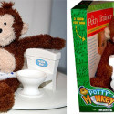 Potty Monkey Teaches You How To Use The Toilet Or Just Soil Yourself, Whichever's Easier