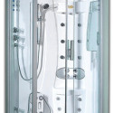 Pure Satin Steam Shower Includes Foot Massager