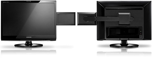 Samsung 2263DX (Images courtesy Samsung)