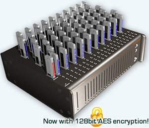 Virtual Console 60 Port USB Flash Drive Duplicator (Image courtesy Virtual Console)
