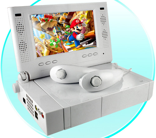 Nintendo Wii LCD Monitor 7 Inch (Image courtesy Chinavasion)