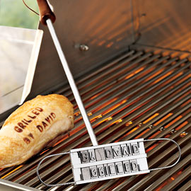 BBQ Branding Iron (Image courtesy Solutions)
