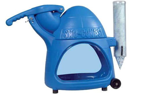 The Cooler Snow Cone Machine (Image courtesy Standard Concession Supply)