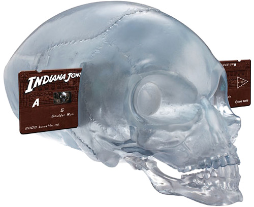 Crystal Skull Adventure Projector (Image courtesy IndianaJonesShop.com)