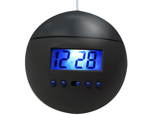 Hanging Alarm Clock (Image courtesy Crazy About Gadgets)