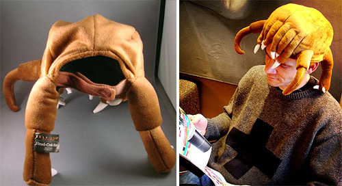 Half-Life 2 Headcrab Hat (Images courtesy Steam)