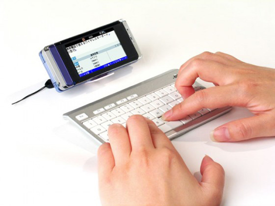 Bluetooth Keyboard Lets You Type Even More On Your Phone Ohgizmo