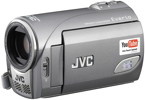 JVC Everio GZ-MS100 (Image courtesy JVC)
