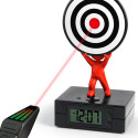 Laser Target Alarm Clock For Heavy Sleepers Or Star Trek Fans