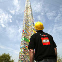 Record-Breaking Lego Tower Stands 100 Feet Tall