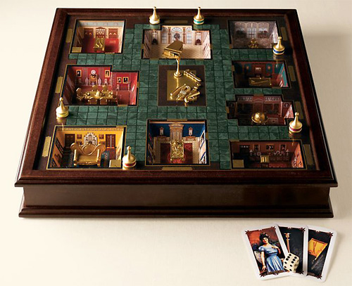 Clue Premier Edition (Image courtesy Restoration Hardware)