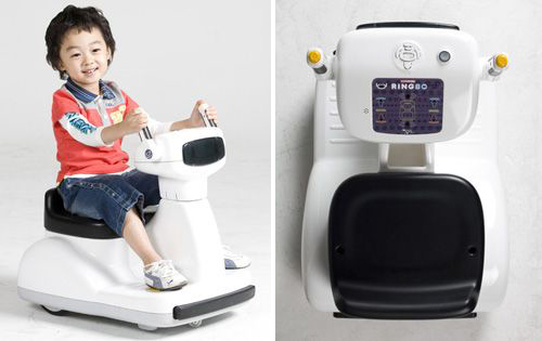 RINGBO Riding Robot (Images courtesy Koreannovation Trade Show)
