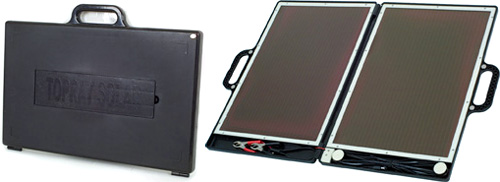 13W Solar Briefcase (Images courtesy Maplin Electronics)