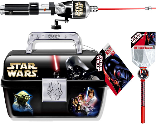 Star Wars Fishing Tackle (Images courtesy TheForce.Net)