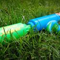 Super Soaker Bottle Shot Encourages Recycling