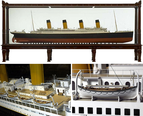 RMS Titanic Scale Model (Images courtesy pucciManuli LLC)