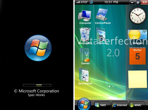 Vista Perfection 2.0 (Images courtesy Just Another iPhone Blog)