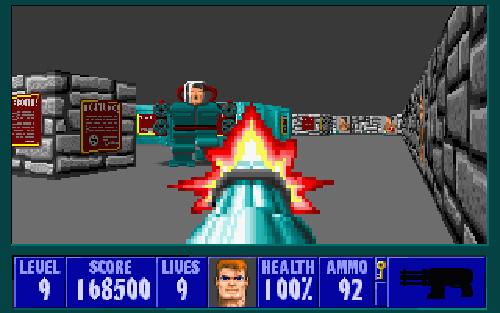 Wolfenstein 3D (Image courtesy Gamasutra)